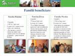 familii beneficiare
