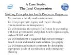 a case study the intel corporation5