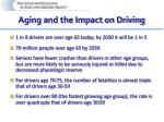 aging and the impact on driving
