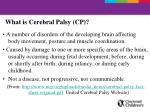what is cerebral palsy cp