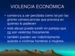 violencia econ mica