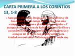 carta primera a los corintios 13 1 8