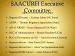 saacurh executive committee
