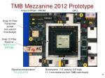 tmb mezzanine 2012 prototype