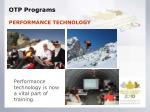 otp programs1