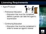 licensing requirements1