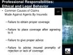 professional responsibilities ethical and legal behavior8