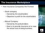 the insurance marketplace1