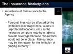 the insurance marketplace14