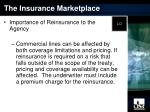 the insurance marketplace15