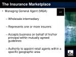 the insurance marketplace17