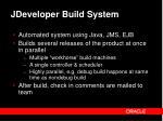 jdeveloper build system