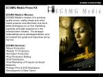 ecsmg media press kit