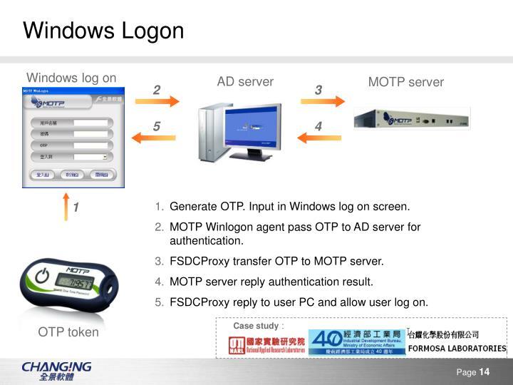Windows Logon