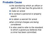 probable cause1