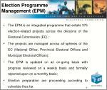 election programme management epm