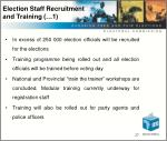 election staff recruitment and training 1