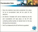 proclamation date