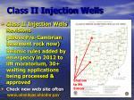 class ii injection wells