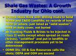 shale gas wastes a growth industry for ohio cont