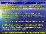 why the current concern cont