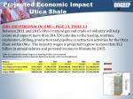 projected economic impact utica shale