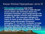 kesan klinikal hiperpekaan jenis iii5