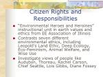 citizen rights and responsibilities