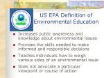 us epa definition of environmental education