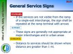 general service signs1