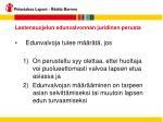 lastensuojelun edunvalvonnan juridinen perusta11