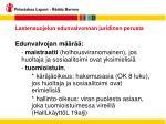 lastensuojelun edunvalvonnan juridinen perusta15