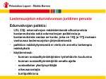 lastensuojelun edunvalvonnan juridinen perusta22