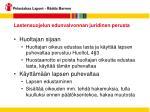 lastensuojelun edunvalvonnan juridinen perusta7