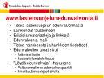 www lastensuojelunedunvalvonta fi