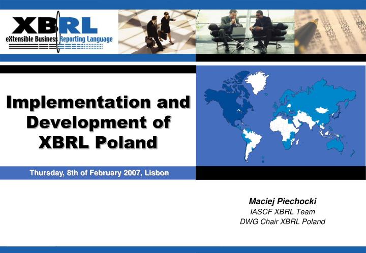 implementation and development of xbrl poland n.
