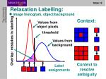 relaxation labelling1