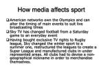 how media affects sport2