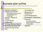 business plan outline www sbm temple edu iei word planigenttemplateoutline 003 doc