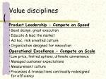 value disciplines