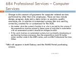 684 professional services computer services