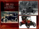 1908 henry ford spou t v robu modelu t