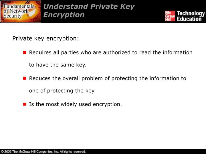 Understand Private Key Encryption