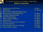 37 th feem annual general meeting draft agenda1