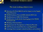 transport working group2