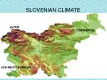slovenian climate