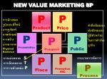 new value marketing 8p