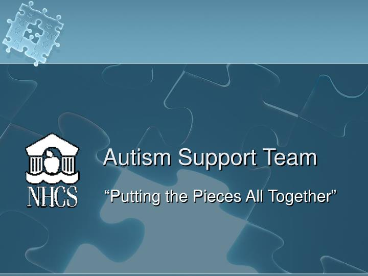 autism support team n.