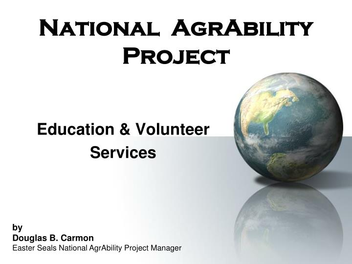 national agrability project n.