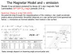the magnetar model and n emission